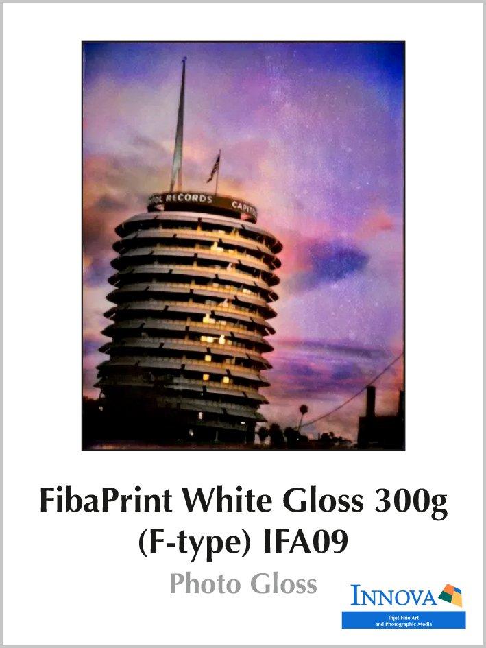 Carta FibaPrint White Gloss 300g (F-type) IFA09