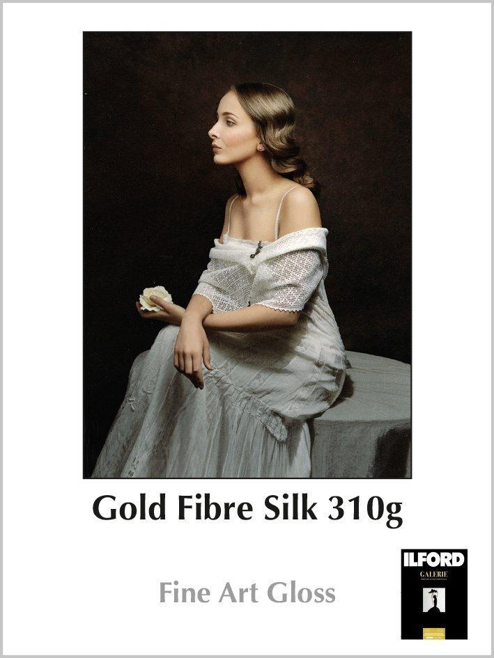 Carta Ilford Galerie Prestige Gold Fibre Silk 310g