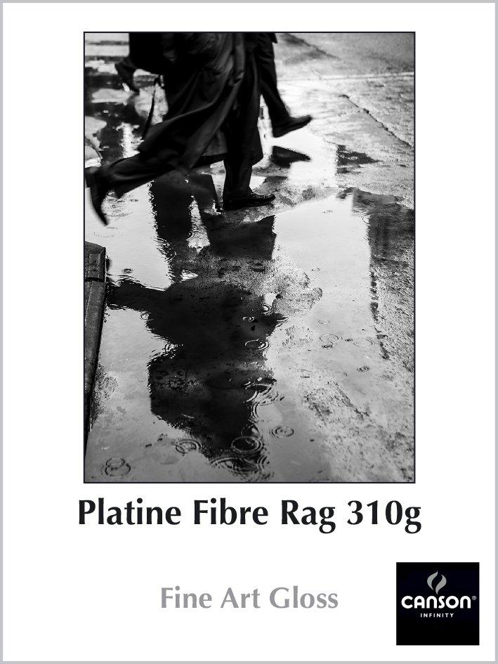 Carta Platine Fibre Rag 310g