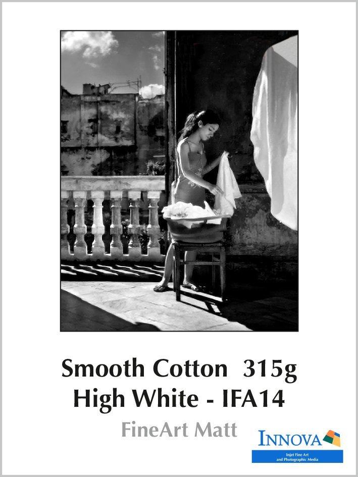 Carta Innova Smooth Cotton High White 315g - IFA14