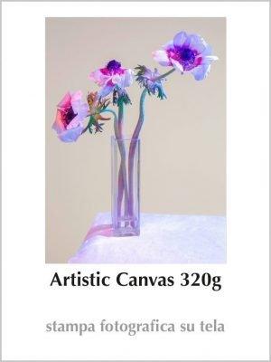 Artistic Canvas 320g con Telaio da 4cm