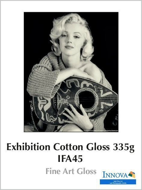 Carta Innova Exhibition Cotton Gloss 335g - IFA 45